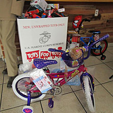 KLUC Toy Drive Drop-off