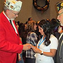 Yosimar Rodriguez Pinning Ceremony